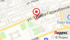 Отель Гянджали Плаза на карте