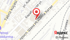 Спа-отель Gorgud на карте