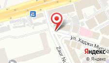Отель Арива на карте