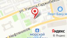 Отель JW Marriott Absheron Baku на карте