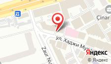 Отель Riva на карте