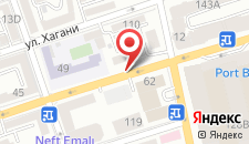 Апартаменты На улице Узеира Гаджибекова на карте