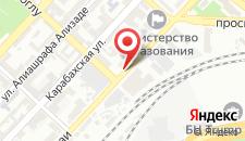 Отель AYF Palace на карте