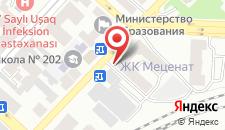 Апартаменты Проспект Хатай, 38 на карте