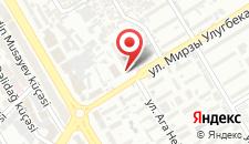 Отель Жасмин на карте