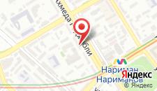 Отель Опера на карте