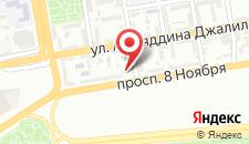 Апартаменты На проспекте Нобеля, 5 на карте
