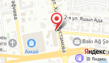 Спорт-отель Qafqaz Baku на карте