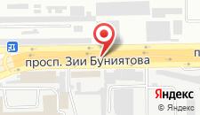 Отель BP Baku на карте