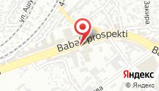 Отель Days Baku на карте