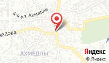 Апартаменты Ahmadli на карте