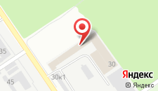 Гостиница Заречье на карте