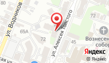 Хостел Nice на А.Толстого на карте