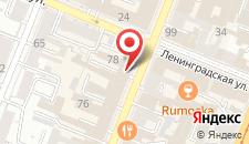 Гостиница Жигули-Эконом на карте