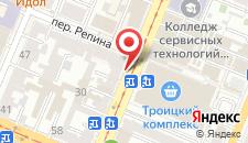 Отель Гостиный двор на Троицкой на карте