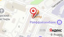 Отель Галчонок на карте