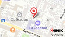 Мини-гостиница На Садовой на карте