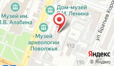 Хостел Rusland на карте