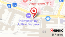 Гостиница Hampton by Hilton Samara на карте