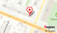 Мини-гостиница Киев на карте