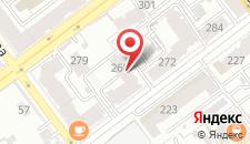 Гостиница Мой город на карте