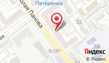 Отель Браво на карте