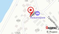 Гостевой дом Акватория на карте