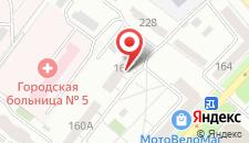 Гостиница Ренессанс Самара на карте
