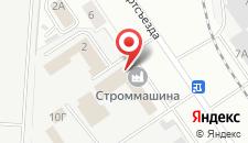 Гостиница Советская на карте