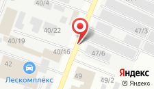 Мини-отель Сияние на карте