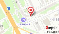 Отель Гостиница Виктория на карте