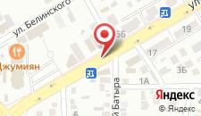 Отель Раш на карте