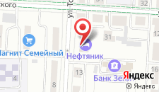 Бизнес-отель Нефтяник на карте