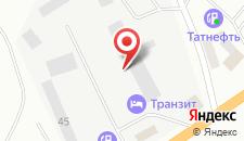 Отель Транзит на карте