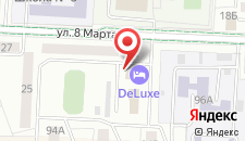 Отель De Luxe на карте