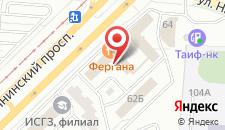 Отель Амира на карте