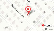 Отель На Ленинградской на карте