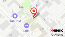Гостиница Loft Hotel на карте