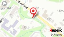 Гостиница Малай Inn на карте