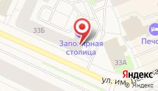 Гостиница Заполярная столица на карте