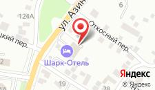 Гостиничный комплекс Шарк-Отель на карте