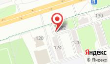Хостел Арена на карте