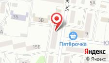 Апартаменты Доброе Жилье на Жуковского 12 на карте