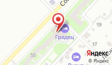 Гостиница Градец на карте