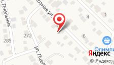 Отель У Закарьи на карте