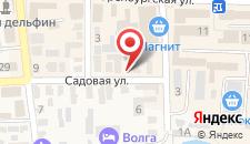 Отель На Садовой на карте