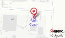 Гостиничный комплекс Сулак на карте