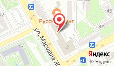 Гостиница Оренбург на карте