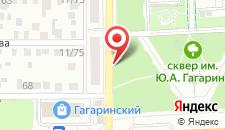 Отель У Солохи на карте