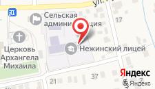 Парк-Отель Нежинка на карте